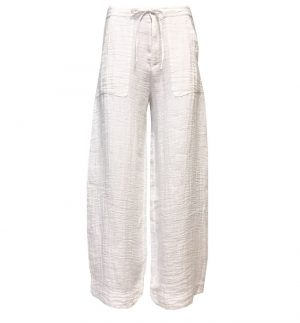 Transit Par Such Wide Leg Cheesecloth Trousers CFDTRLA102-00