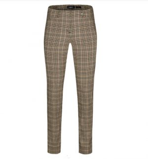 Robell Rose Checkered Trousers