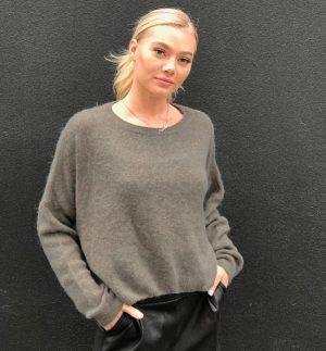 Annie Dark Taupe Sweater