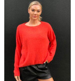 Orange Annie Sweater