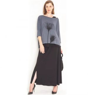 Habits Collection Travel Range Bias Skirt