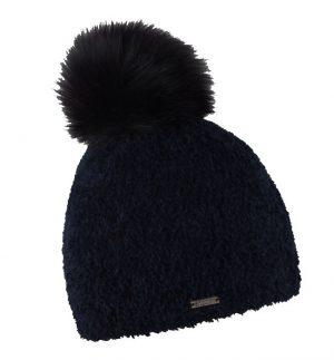 Sabbot Gizella Pompom Hat Black