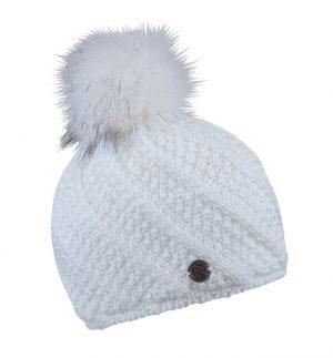 Sabbot Marta Pompom Hat White