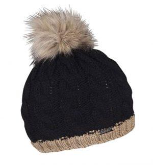 Sabbot Andrea Pompom Hat Black