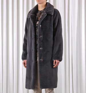 Rino & Pelle Zonna Long Faux Fur Coat