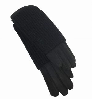 Obsessions Black Gloves
