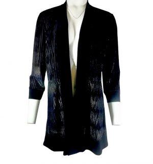Frank Lyman Black Gold Evening Jacket