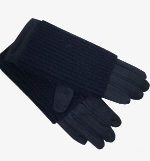 Obsessions Navy Gloves